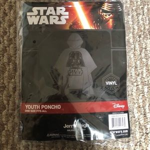 Star Wars clear Poncho for Children (NEW)